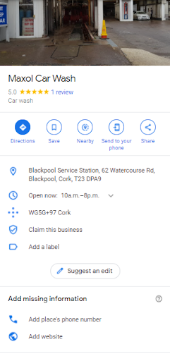 Google Map Listing for Your Business